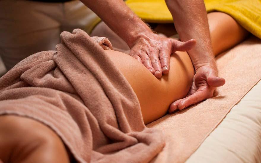 профессиональный антицеллюлитный массаж